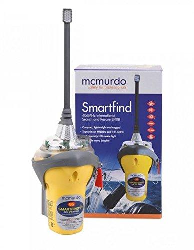McMurdo AIS-Notfallsender Smartfind Plus G5 GPS-Satelliten-Epirb-Handbuch, Gelb