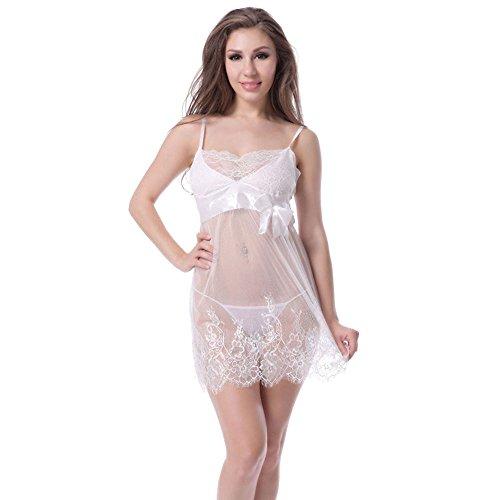 ILYRQQNY ZHDC® Sexy Dessous, Spaß Unterwäsche Europa und die Vereinigten Staaten Spaß Pyjamas Fliege Perspektive Spitze Unterwäsche Sexy Pyjamas Sous-vêtements séduisants (größe : M) -