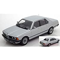 NEW KK Scale KKDC180102 BMW 733i E23 1977 Silver 1:18 MODELLINO Die Cast Model