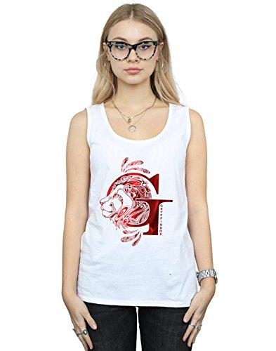 Absolute Cult Harry Potter Women's Gryffindor Lion Vest