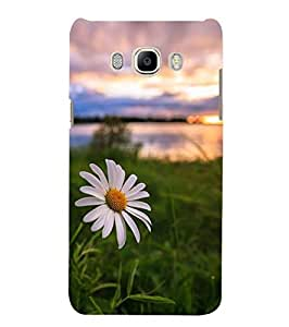 Fuson White Flower With A Background Designer Phone Back Case Cover Samsung Galaxy J5 (6) 2016 :: Samsung Galaxy J5 2016 J510F :: Samsung Galaxy J5 2016 J510Fn J510G J510Y J510M :: Samsung Galaxy J5 Duos 2016 (Multi)