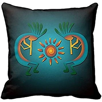 'kokop Elli with sun SQ r267dbcd711 C446 a3a710170bced990 a0 i5fqz 8byvr Pillow Case 18 * 18 \