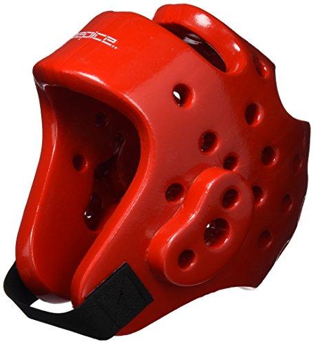 DEPICE Schutzausrüstung Kopfschutz, Rot