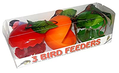 Green Jem Fruit Shaped Wild Bird Feeder from Green Jem