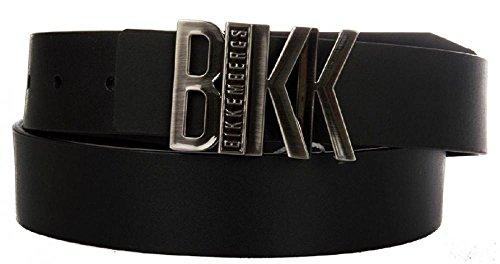bikkembergs-cinturon-para-hombre-negro-negro-l