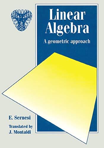 Linear Algebra: A Geometric Approach (Chapman Hall/CRC Mathematics Series Book 7) (English Edition)