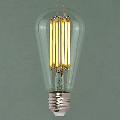 Dimmable Vintage LED Edison Light Bulb 6w (60w) - Squirrel Cage 64mm ES E27 - The Retro Boutique ®
