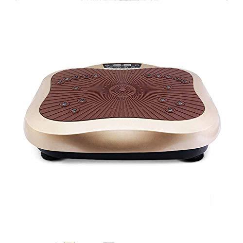 PHNWL-Vibrationsplatte,Fitness Plate Vibrationsplatte Crazy Body Shaker,8 Modi, Fußmassage, intelligente Stummschaltung, 0-99-Datei, Hochfrequenzvibration
