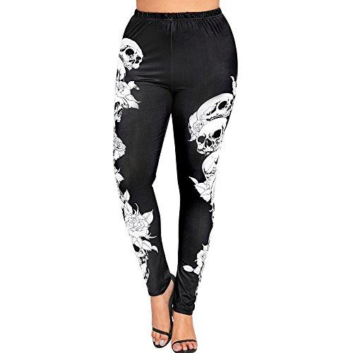 Sport Leggings Damen Große Größen Yoga-Fitness-Hose mit Gedruckte Muster Jogginghose für Fitness, Training Allence -