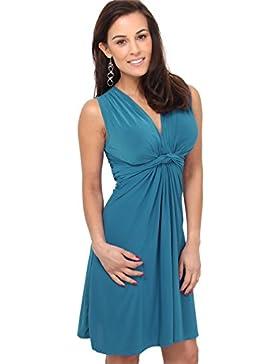 KRISP® Damen Kleid mit Geknotete