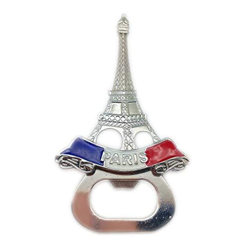 Flaschenöffner Eiffelturm Paris Frankreich 3D Kühlschrank Kühlschrankmagnet Reisestadt Souvenir Collection Küche Dekoration Whiteboard Aufkleber Metall