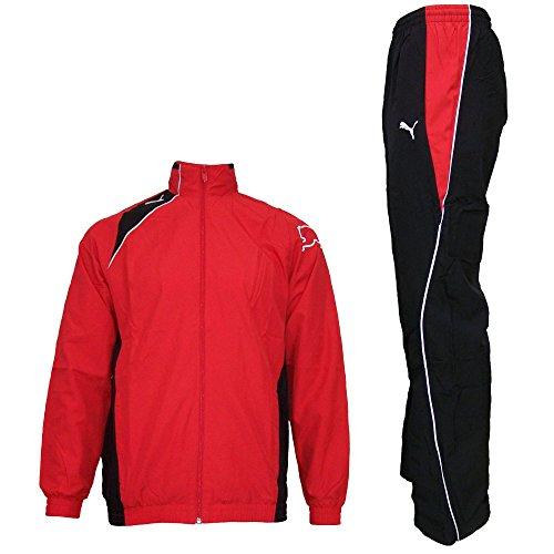 Puma Trainingsanzug für Kinder, Farbe:Rot;Bitte Größe wählen:176