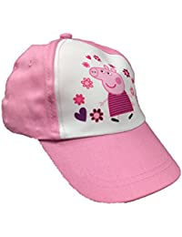Girls New Peppa Pig Summer Cap Hat (2 Colours) 2 Sizes Available