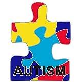 Pin para solapa, diseño de campaña para la concienciación sobre el autismo