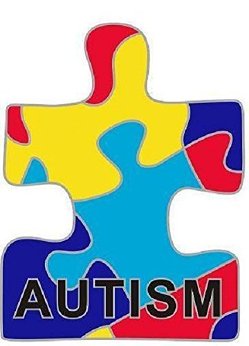 Puzzle-Anstecknadel für Autismus-Bewusstsein (Autismus-abzeichen)