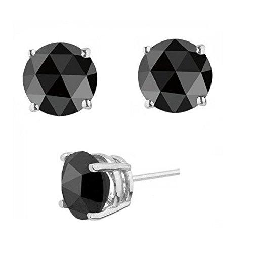best-selling-100-carat-real-natural-black-diamond-stud-earringssterling-silver-screw-back
