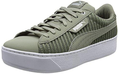 Puma Damen Vikky Platform Sneaker, Blau (Cerulean White 17), 38 EU