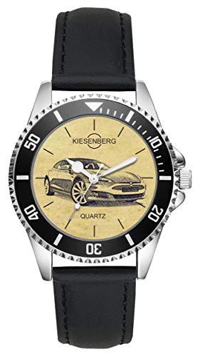 KIESENBERG Uhr - Geschenke für Tesla Model S Modellplfege Fan L-4746