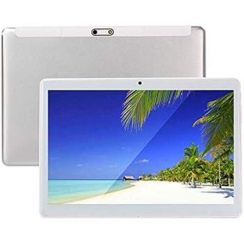 Tablet de 10 Pulgadas Octa Core CPU Android 4 GB RAM 64 GB Memoria Interna WiFi cámara GPS Dual SIM sin Bloqueo de Red 3G Tablet Metal Negro