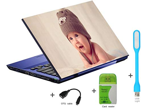 Imagination Era 4-in-1 Laptop-Skin-Stickers-HD-Quality-Fits Dell Hp Toshiba Acer Asus and for-All Models-Fintting-15.6 inch