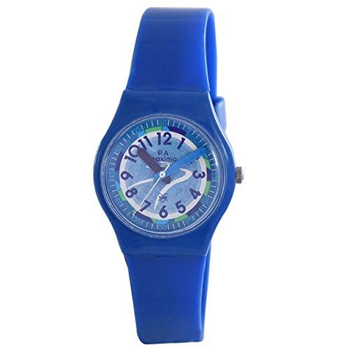 Maxima Analog White Dial Men's Watch-39436PPKW image