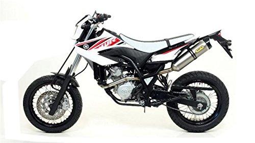 Auspuff- Endschalldämpfer Arrow Thunder, Yamaha WR 125 mit Zulassung - 2