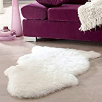 duanlidong Super Soft Faux Sheepskin Washable Carpet Warm Hairy Seat Pad Fluffy Rugs Faux Fur Mats For Floor gray China