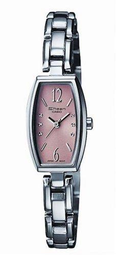 Casio Casio Collection Damen SHN-4008D-5AEF - Reloj de mujer de cuarzo con correa de acero inoxidable plateada