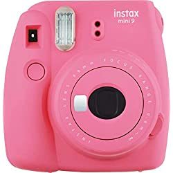 Fujifilm - Instax Mini 9 - Pack d'Appareil photo instantané avec 1 Film Monopack - Rose