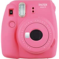 Fujifilm Instax Mini 9 - Cámara instantánea, Cámara con 1x10 películas, Rosa