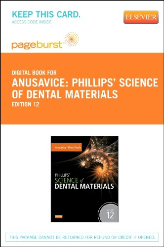 Phillips' Science of Dental Materials - Elsevier eBook on Vitalsource (Retail Access Card)