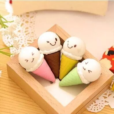 Lovely-fruit-lollipop-eraser4PC