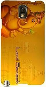 Striking multicolor printed protective REBEL mobile back cover for Samsung Galaxy Note 3 / N9000 / N9002 D.No.N-L-14224-N3