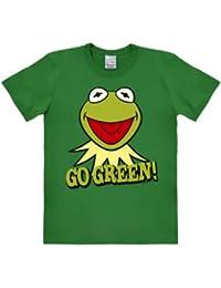 Logoshirt Muppets - Kermit - Go Green - T-shirt - Homme