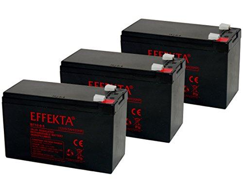 BATERIA COMPATIBLE PARA BICICLETAS ELECTRICAS DRAISIN SCOOTER CROSSER TANDEM 36V  3X 12V 9 5AH