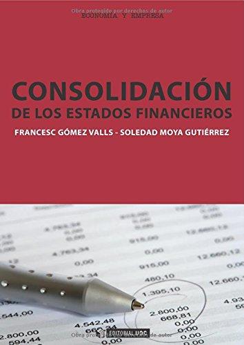 Consolidación De Los Estados Financieros (Manuales) por Martinez