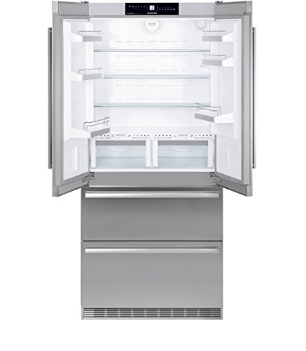 Liebherr CBNes 6256-Kühlschranktür Amerikaner (autonome, Edelstahl, Tür Französische, A + +, LED, sn-t)