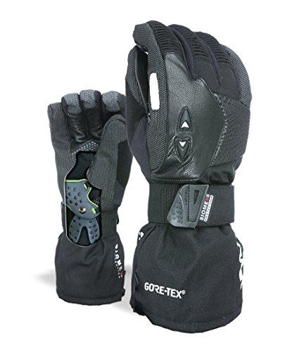 Level Herren Super Pipe Gore-Tex Handschuhe, Black, 8,5