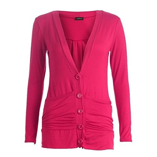 RIDDLEDWITHSTYLE -  Maglia a manica lunga  - Donna Cerise