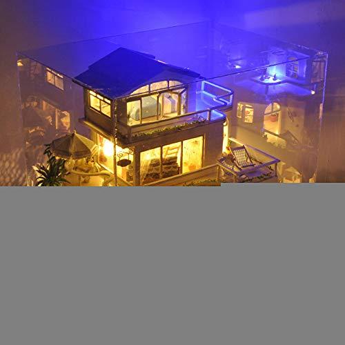 DIY Spielzeug DIY Kabine Abdeckung Handgemachte Große Villa Packtoys Valentinstag Geburtstag Geschenk 25.5*34*29 Vancouver ,Musik ,Und Cover