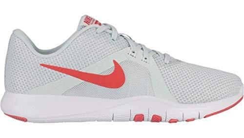 Nike Damen W Flex Trainer 8 Fitnessschuhe, Mehrfarbig (Barely Grey/Ember Glow/Sail 007), 40.5 EU (Nike Schuhe Flex Trainer)