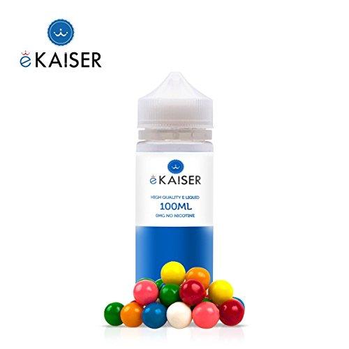 EKaiser 0mg chicle E-líquido | 50/50 PG/VG | Botella