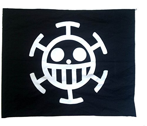 Bandera de One Piece - Law