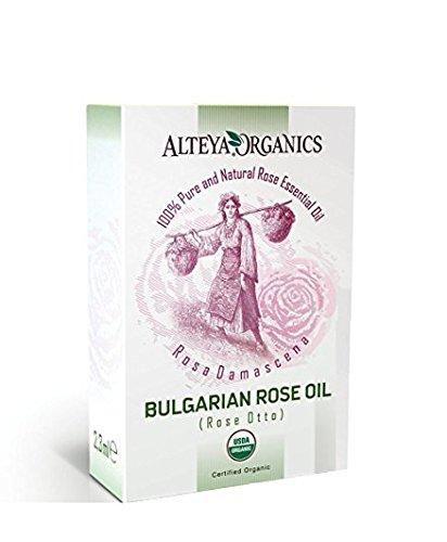 Alteya Organics Huile Essentielle de Rose bulgare (Rosa Damascena Rose Otto) 2.3ml