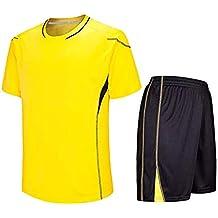 Amazon.es: camisetas futbol niños - Amarillo