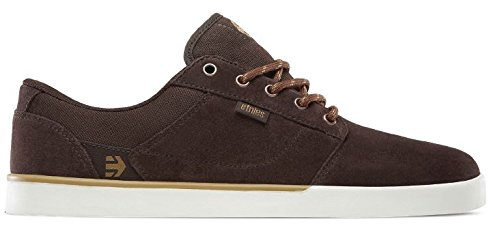 Etnies Jefferson, Chaussures de Skateboard Homme Dark Brown