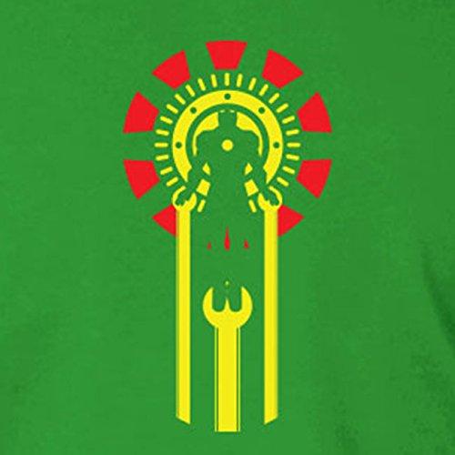 Iron Logo - Herren T-Shirt Dunkelgrün