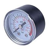 REFURBISHHOUSE 0-12BAR 0-170PSI 10mm filettatura gas Air Pump Pressure Gauge Compressore Manometro