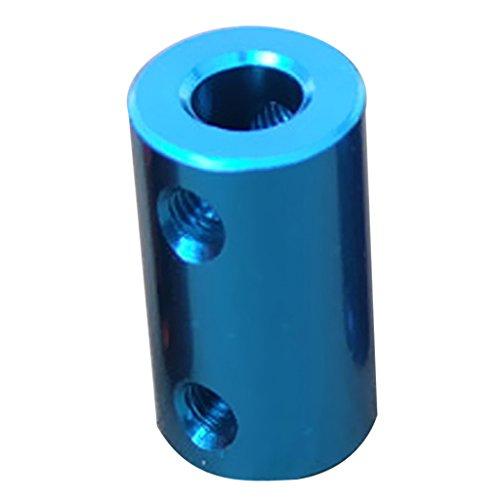 Motor Kupplung (Baoblaze CNC Schritt Motor Wellen Kupplungen Flexible Kupplung Motorstecker - Wasserblau 8-10mm)