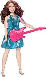 Barbie Quiero Ser rockera, muñeca con accesorios (Mattel DVF52)